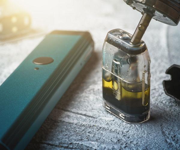 Mélange des e-liquides